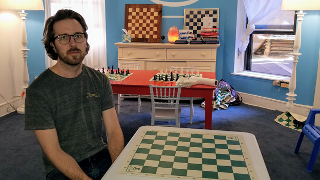 Chess at Three's Tyler Schwartz featured in WCBS Radio 50 People to Know