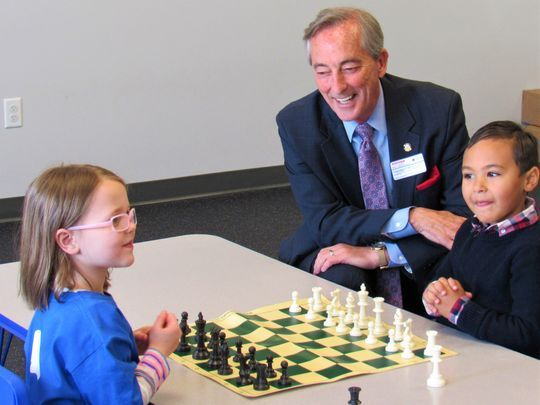 Press: Checkmate! Tykes take to chess at Goddard School
