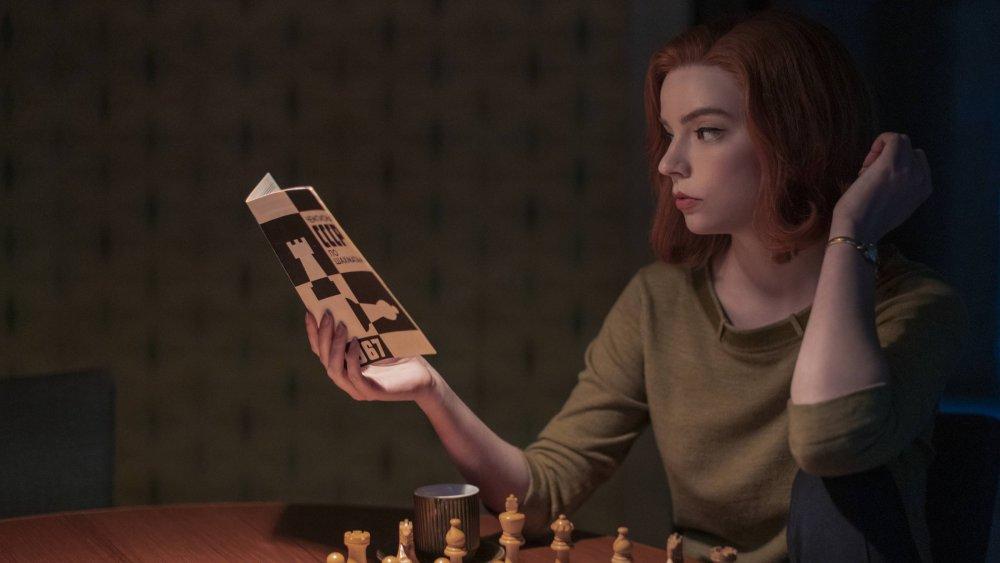 Beth plays chess