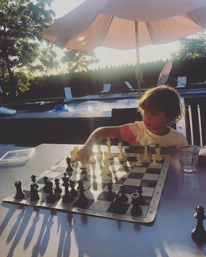 summer chess lesson